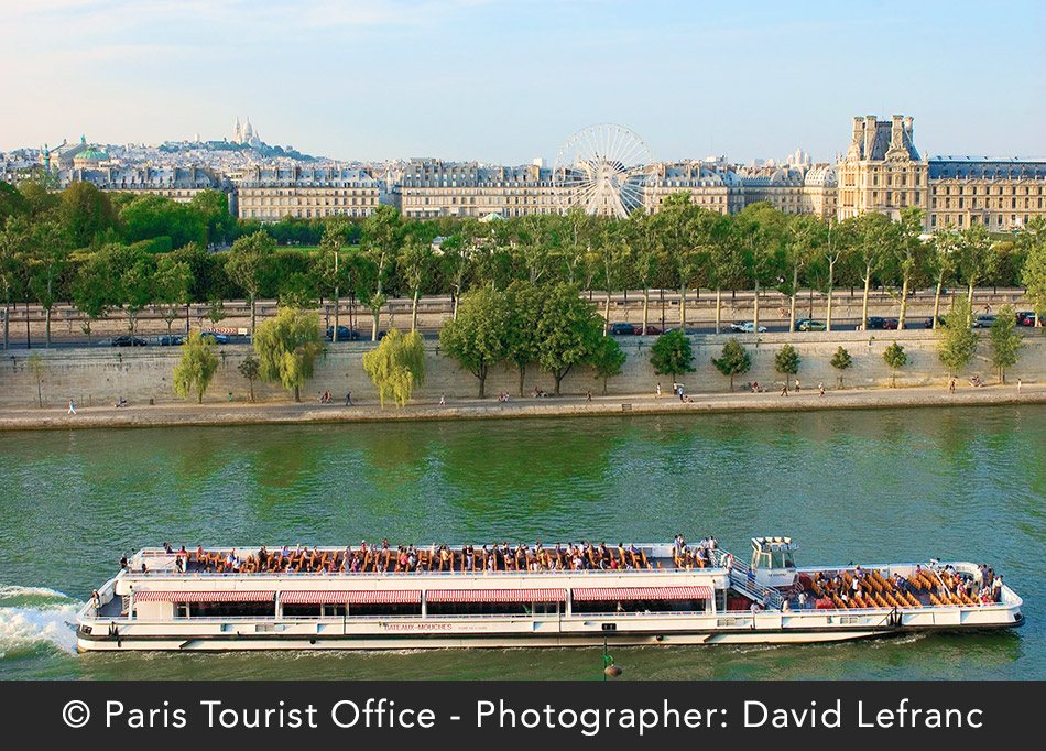 Paris Sightseeing Tour and River Seine Cruise