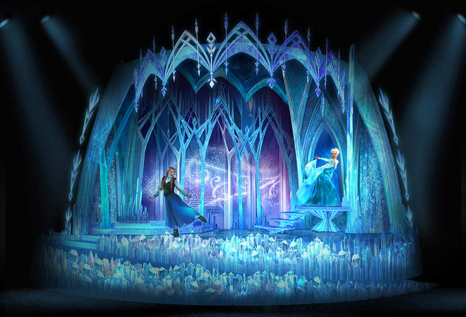 Sing along to Frozen with Elsa