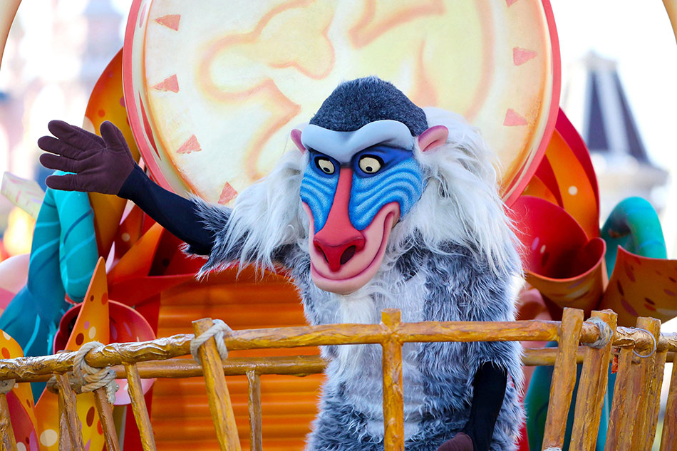 The Lion King and Jungle Festival at Disneyland Paris