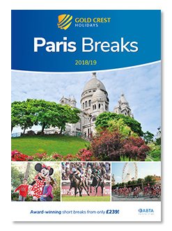 Paris City Breaks Brochure 2018