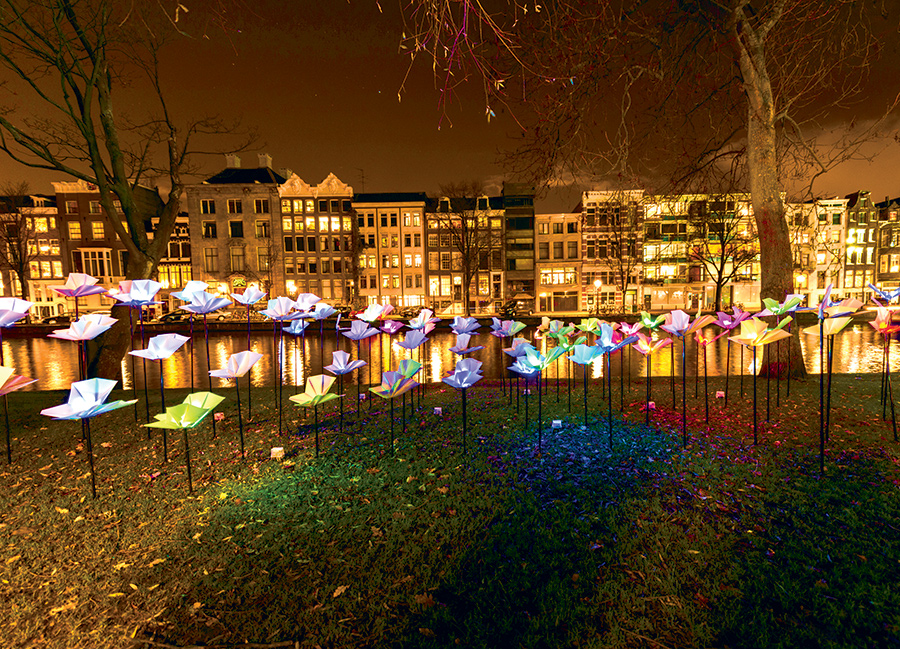 Keukenhof And The Amsterdam Festival Of Light By Coach