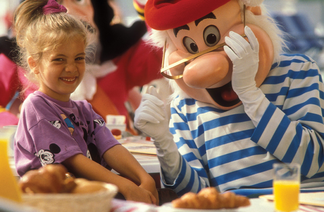 Breakfast with Disney Characters