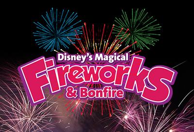 Disney's Magical Fireworks and Bonfire'