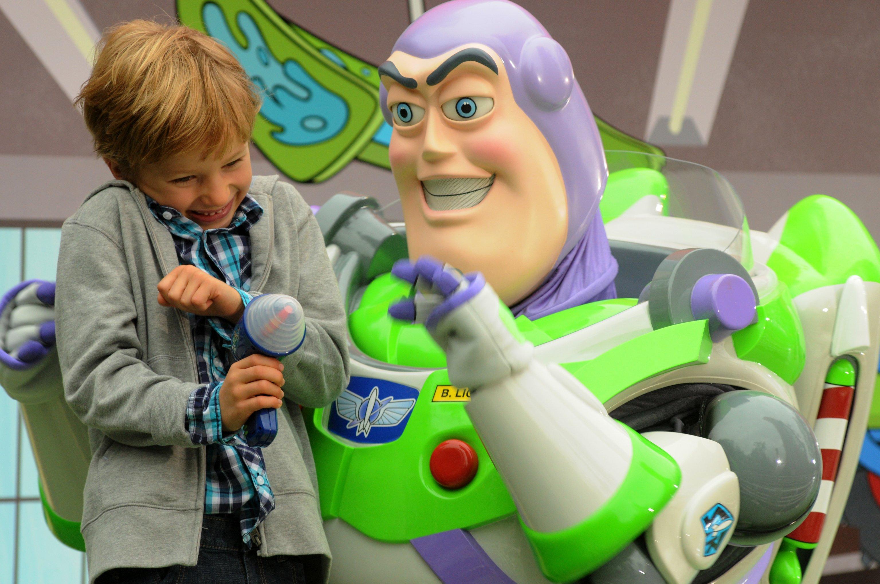 Buzz Lightyear and Euro Disney Paris