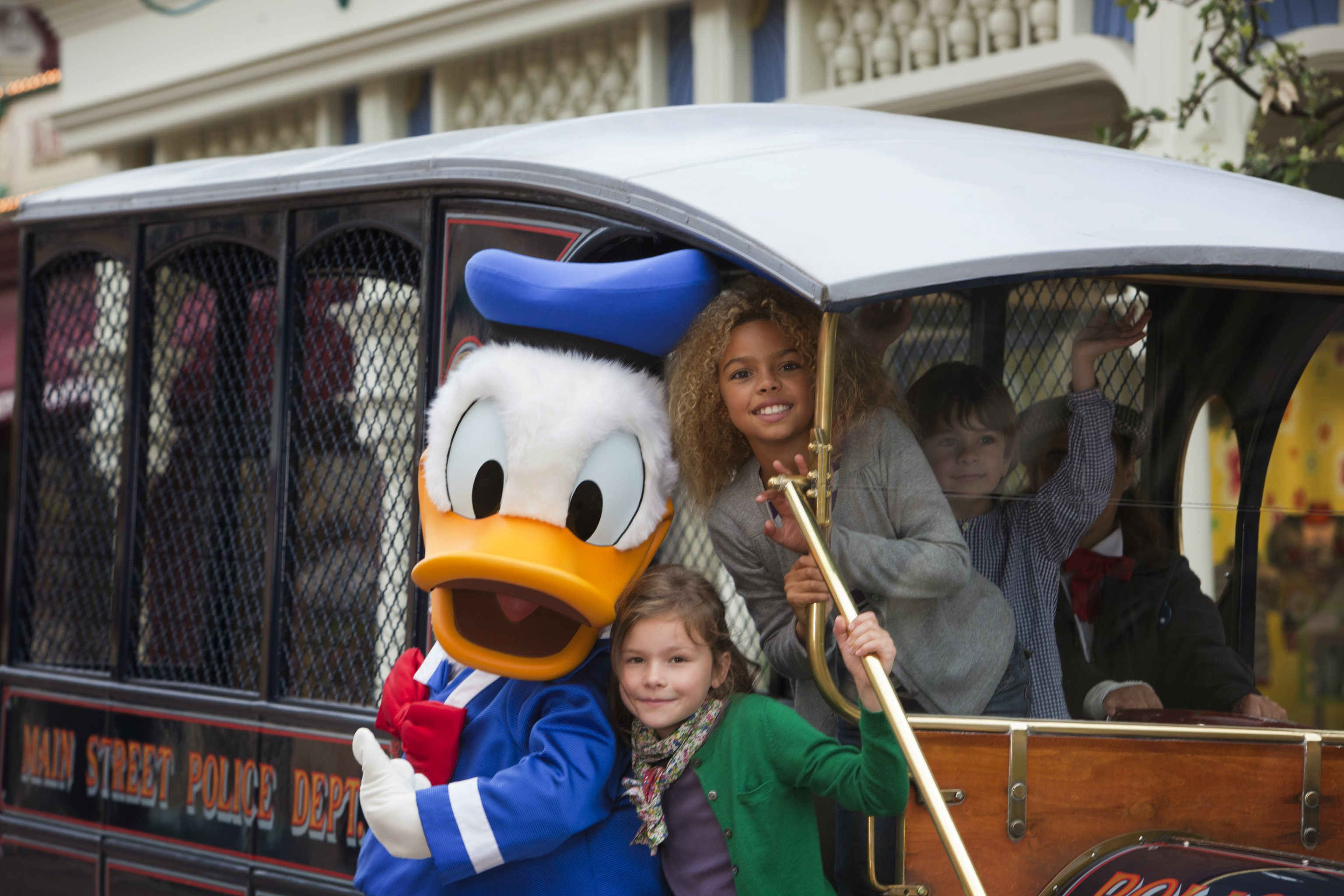 Donald Duck at EuroDisney