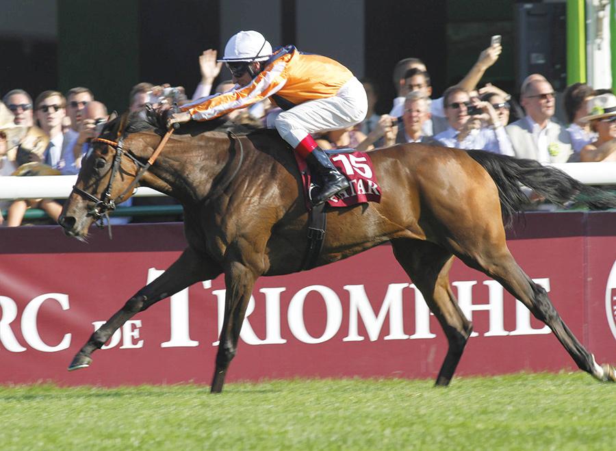 The Prix de l'Arc de Triomphe Horse Race